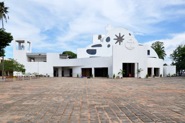 Parumala Church, image via Wikipedia.