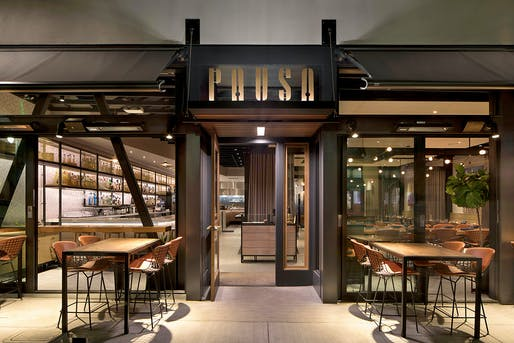 PAUSA Bar & Cookery, San Mateo, CA. Designed by: CCS Architecture. Photo: Paul Dyer​