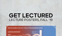 The most popular Fall '19 architecture school lecture poster is...