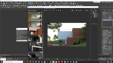 Wrapping up the design of a villa in Damavand And focused on render it Render by vray5.1