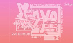 AIA|LA's 2x8: Domum student exhibition goes digital featuring an immersive virtual environment
