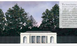 Melania Trump is building a classically inspired tennis pavilion on the White House lawn