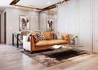 Thiết kế nội thất căn hộ chung cư hiện đại và đẳng cấp