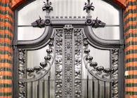 Neogothic gate's reconstruction