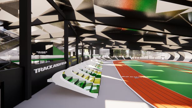 Interior Track View