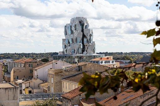 The Gehry-designed Luma Tower at Luma Arles, Parc des Ateliers is now open to the public. © Adrian Deweerdt
