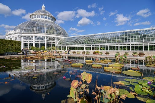 View of the New York Botanical Garden in The Bronx. Image courtesy of Wikimedia user King of Hearts.