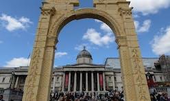 Recreation of Palmyra's Arch of Triumph presented in Trafalgar Square