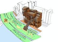 Projet de Fin d'Etudes - Urban Gruyere in Nihombashi