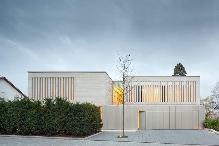 Residence in Weinheim, Germany, 2013. Photo: Jose Campos