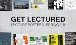 Which Spring '18 architecture school lecture poster is your favorite? Vote now!