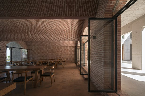 First floor cafe © Su Shengliang