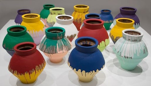 'Colored Vases', Ai Weiwei, 2006-2012