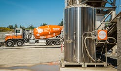 CarbonCure sequesters CO2 to reduce emissions and increase strength of concrete