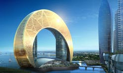Half moon hotel shows Baku's stellar architectural ambitions