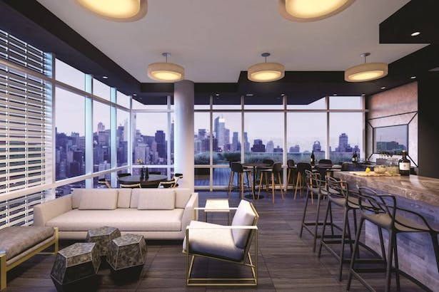 Sky Lounge / Bar on the 46th floor