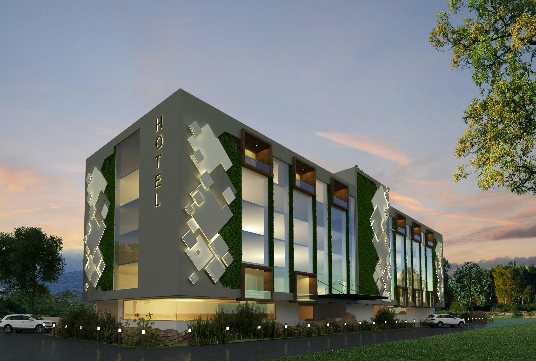 3 star hotel at vijayawada  apse design