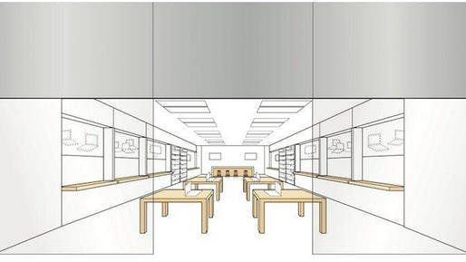 Apple's trademark layout