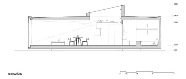 Section. Image: Ark Shelter Studio.