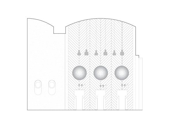 Longitudinal section Restroom Formafatal