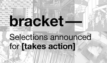 Bracket [takes action]: submissions selected and new website launches!