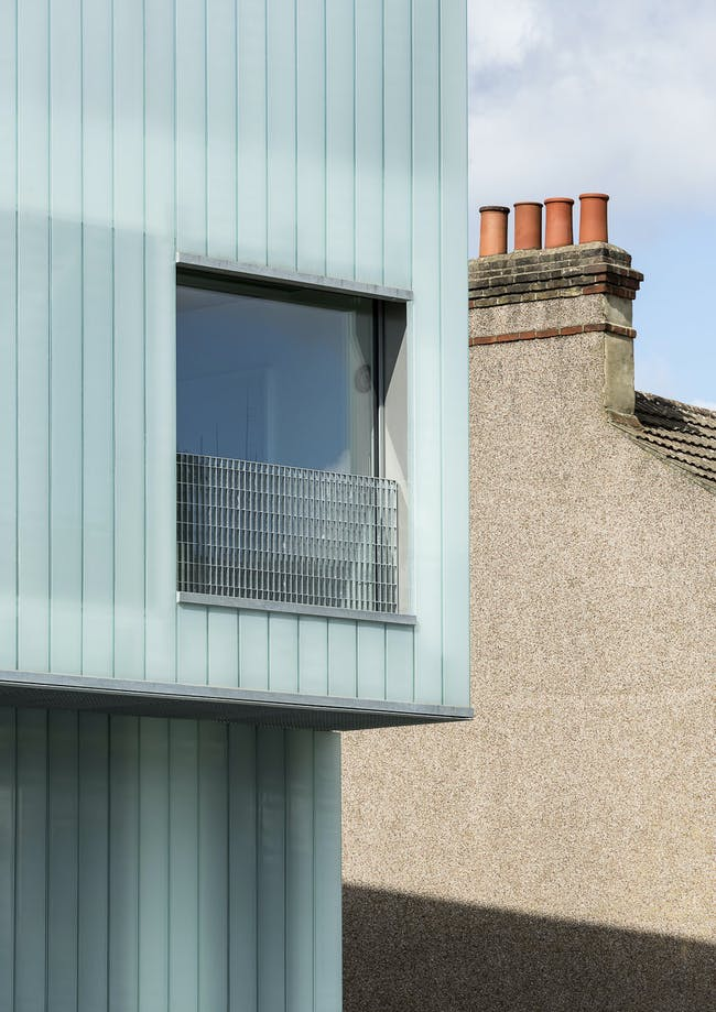 Slip House in London, UK by Carl Turner Architects