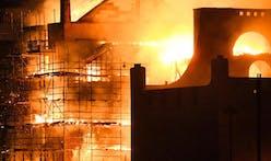 Glasgow School of Art engulfed by fire, again!