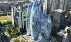 Zaha Hadid Architects' oblong design for OPPO Shenzhen headquarters