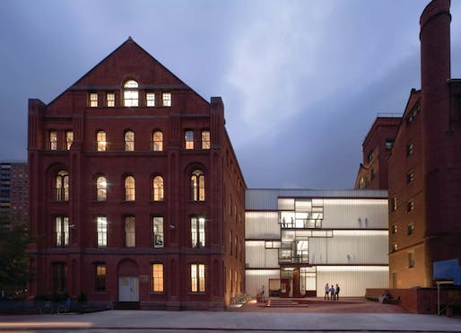 The Pratt Institute School of Architecture at Higgins Hall. Image courtesy of David Sundberg/Rogers Partners