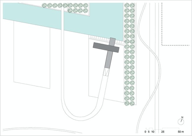 Site plan. Image courtesy of Paul de Ruiter Architects