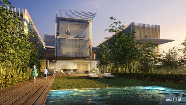 Michel Abboud Design for Amchit Bay Resort