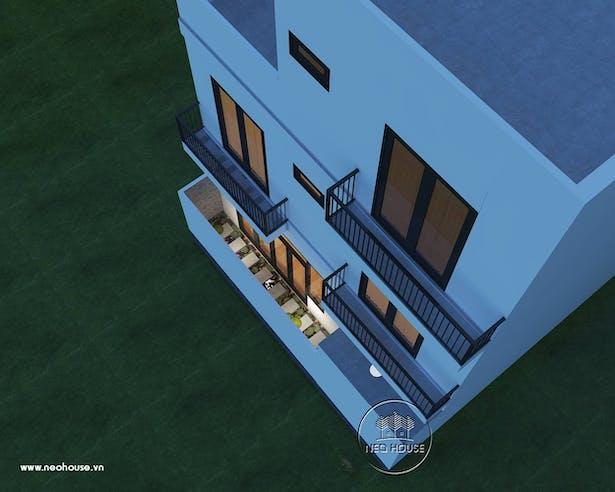 Thiết kế biệt thự hiện đại 3 tầng. Ảnh 2