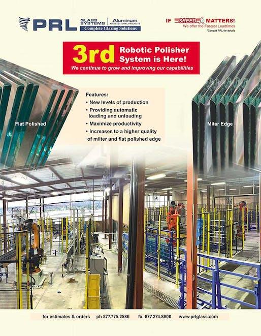 3rd robot glass polisher