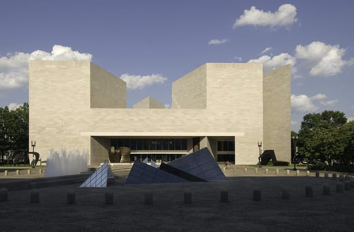 The National Gallery's East Building will reopen this week after extensive updates inside. (Photo © Dennis Brack/Black Star. National Gallery of Art, Washington, Gallery Archives)