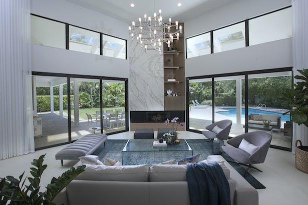 Cocoplum Contemporary Oasis - Interior Design Project by DKOR Interiors