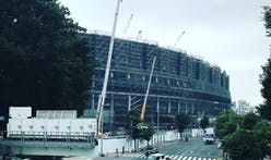 Tokyo Olympic Stadium: construction progress 'as planned'