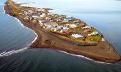 The Alaskan village set to disappear under water in a decade