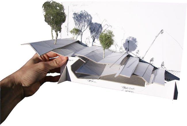 Small model (Image: Koning Eizenberg Architecture/ARUP)