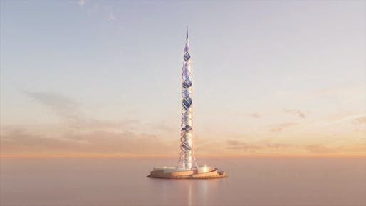 Lakhta Center II will be the second tallest building in the world. Image: Kettle Collective