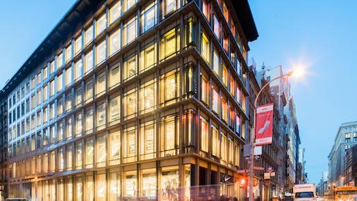 Nike Soho storefront Image © Nike
