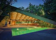 Sheats/Goldstein house by John Lautner.