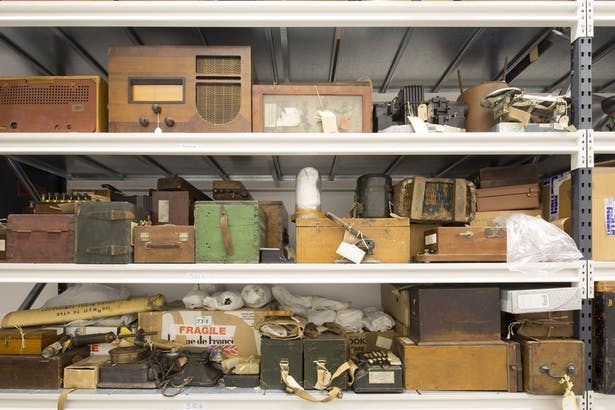 Part of the collection of historic communications devices