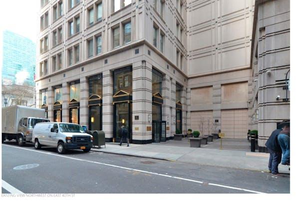 Existing Exterior Storefront & Plaza