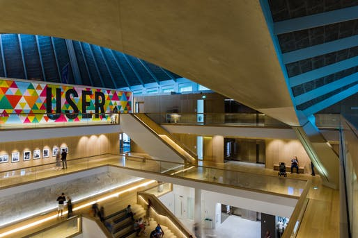 London Design Museum Interior shot. Image © Barnyz via/Flickr