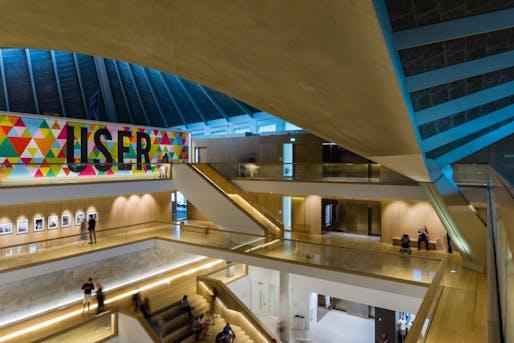 London Design Museum Interior shot. Image © Barnyz via/Flickr