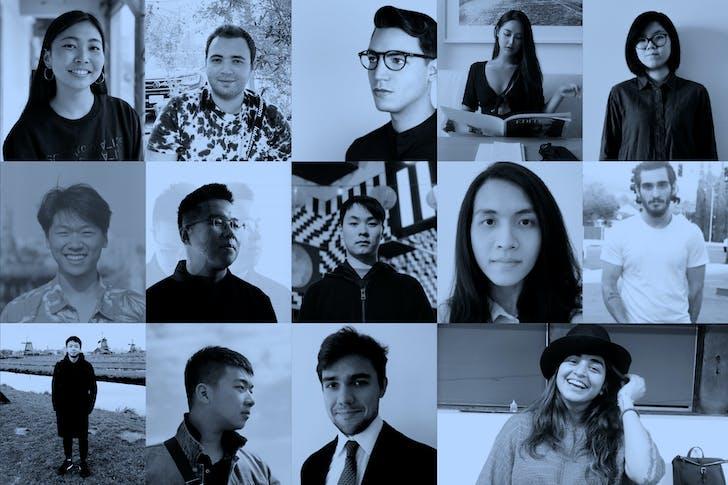 From right to left: Top: Lu Liu, Jessie Pan, Santiago Alvarez Santibañez, Aliberk Senbas, Corie Yaguchi. Middle: Grigori Khachatryan, Malvin Bunata Wibowo, Tony Tang, Yizhan Zhong, Yeonho Cho. Bottom: Riya Patel, Takin Daneshmir, Tianao Xu, Leo Wan. Image courtesy of SCI-Arc