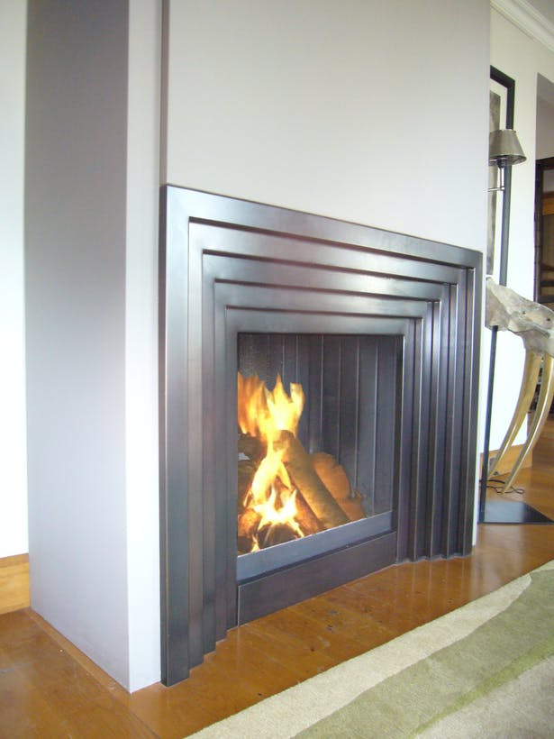 Bloch Design art deco fireplace 2