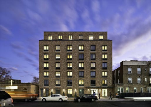 CAMBA Hegeman Avenue by Dattner Architects, an affordable housing development in Brooklyn, New York