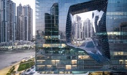 New photographs of Zaha Hadid's striking ME Dubai Hotel at the Opus