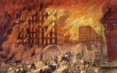 The Great Chicago Fire at 150: Architectural Historian Jerry Larson Weighs in on Myths Surrounding the Architectural Changes it Brought to the City